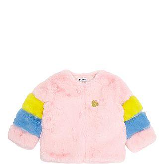 Lollipop Faux Fur Coat