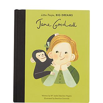 Jane Goodall Illustrated Book