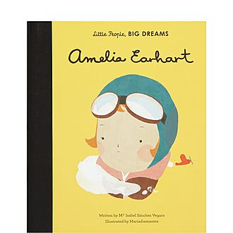 Little People, Big Dreams Amelia Earhart Picture Book