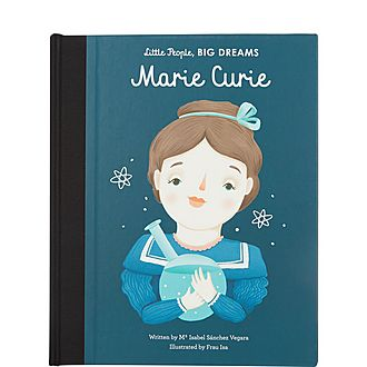 Marie Curie Illustrated Book