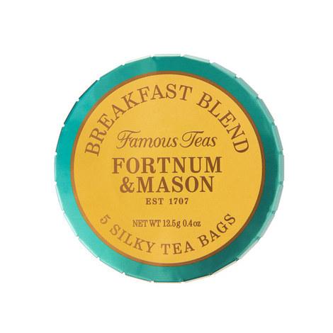 Breakfast Blend Classic Pocket Tin Tea Bags, ${color}