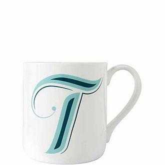 Alphabet T Mug