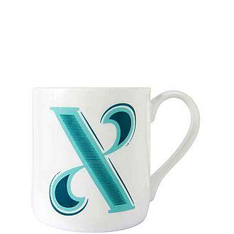Alphabet X Mug