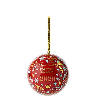 Fortnum's Milk Chocolate Caramel Truffles Bauble 55g