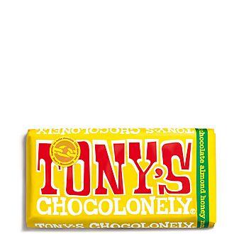 Almond Honey Nougat Milk Chocolate Bar