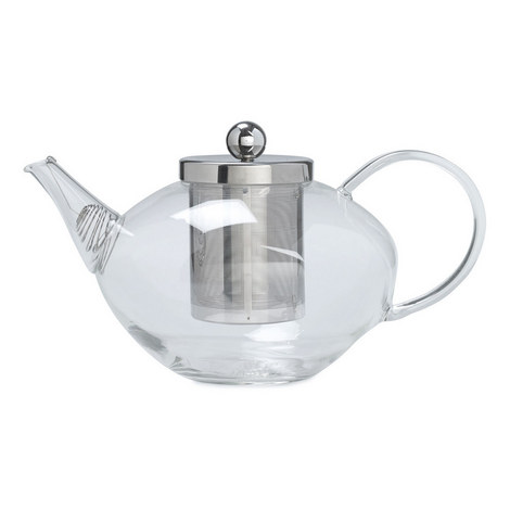 Chelsea Glass Teapot With Infuser, ${color}