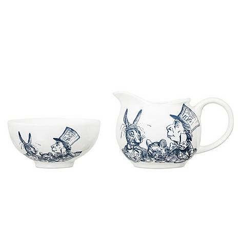 Alice in Wonderland Milk and Sugar Set, ${color}