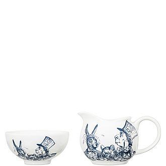 Alice in Wonderland Milk and Sugar Set