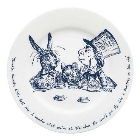 Alice in Wonderland Tea Plate, ${color}
