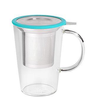 Aqua Glass Pao Mug With Infuser
