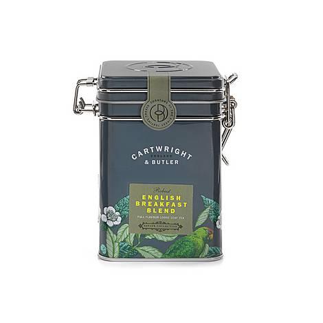 English Breakfast Blend Loose Leaf Tea Caddy, ${color}