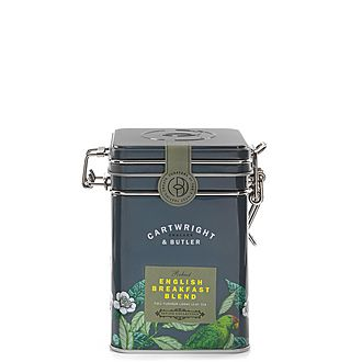 English Breakfast Blend Loose Leaf Tea Caddy