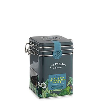 Earl Grey Celebrated Blend Loose Leaf Tea Caddy