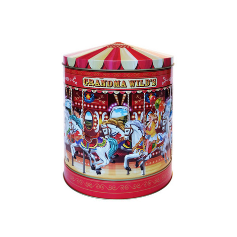 Carousel Biscuit Tin, ${color}