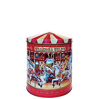 Carousel Biscuit Tin