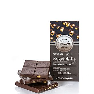 Dark Chocolate Hazelnut Bar