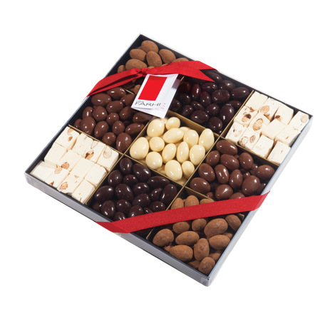 9-Way Almond & Nougat Selection Box, ${color}