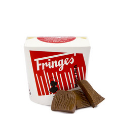 Chocolate Hazelnut Fringes