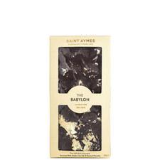 Babylon 23ct Gold Dark Chocolate & Pistachio Bar