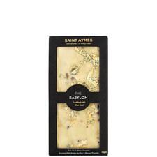Babylon 23ct Gold White Chocolate & Pistachio Bar