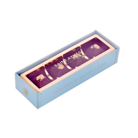 The Klimt 23ct Gold Salted Caramel & Hazelnut Chocolate Box, ${color}
