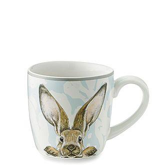 Damask Bunny Mug