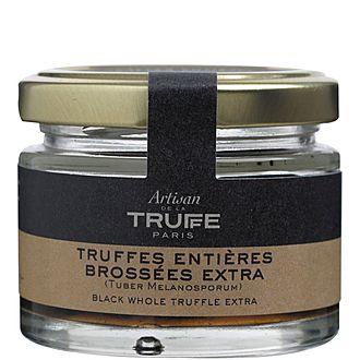 Large Black Whole Truffles