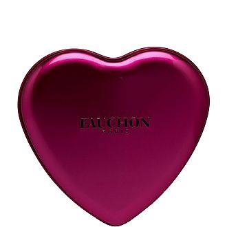 Magenta Heart Milk Chocolate Tin
