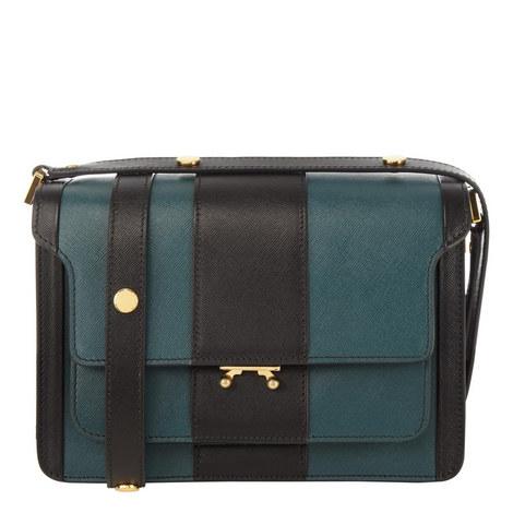Stripe Trunk Shoulder Bag, ${color}