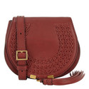 Marcie Braided Saddle Bag Small, ${color}