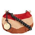 Madie Suede Patch Bag, ${color}