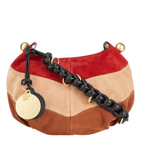 Madie Suede Patch Bag, ${color}