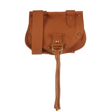 Collins Leather Saddle Bag Small