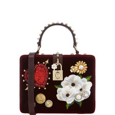 Velvet Box Bag