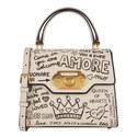Graffiti Welcome Shoulder Bag, ${color}