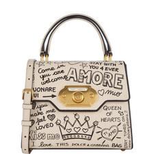 Graffiti Welcome Shoulder Bag
