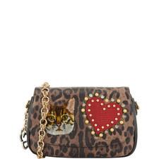 Leopard Patch Shoulder Bag