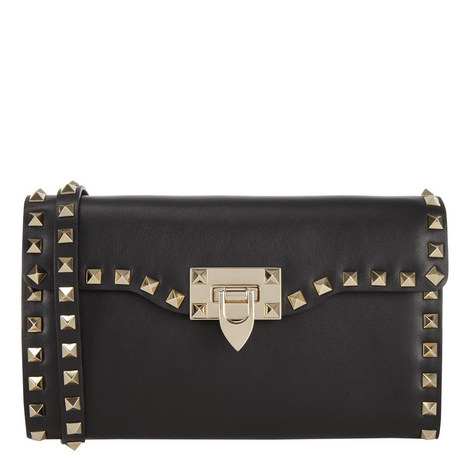 Rockstud Clutch Crossbody Bag, ${color}