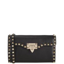 Rockstud Clutch Crossbody Bag