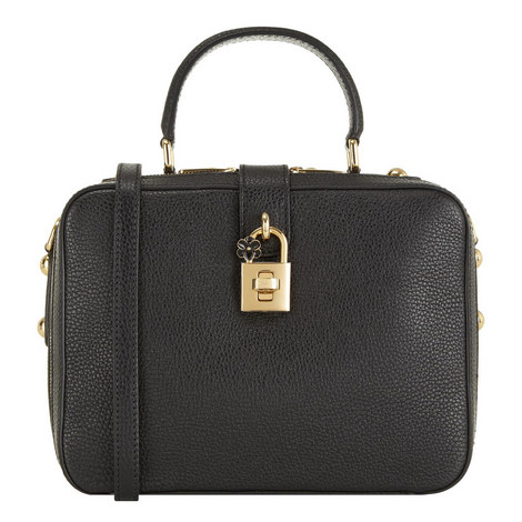 Dolce Calfskin Box Bag , ${color}