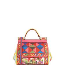 Sicily Floral Print Bag Mini
