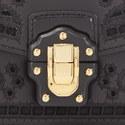 Lucia Laser Cut Chain Strap Bag, ${color}