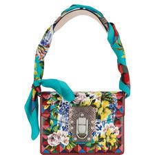 Lucia Scarf Tie Shoulder Bag