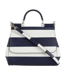 Sicily Stripe Print Bag