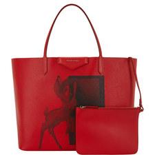 Bambi Print Shopping Bag