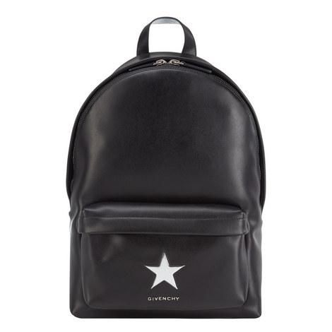 Metal Star Detail Backpack, ${color}