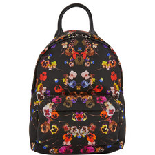 Pansy Print Backpack