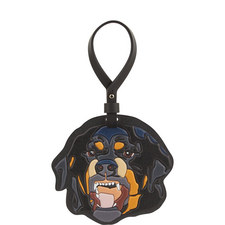 Leather Rottweiler Charm