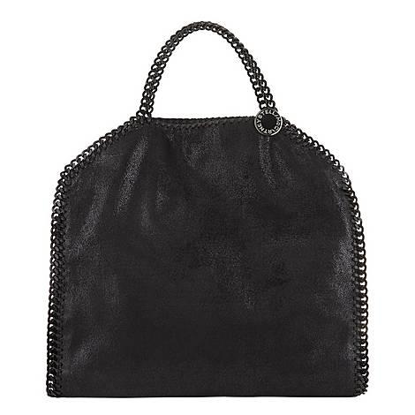 Falabella Shaggy Deer Foldover Tote Bag, ${color}