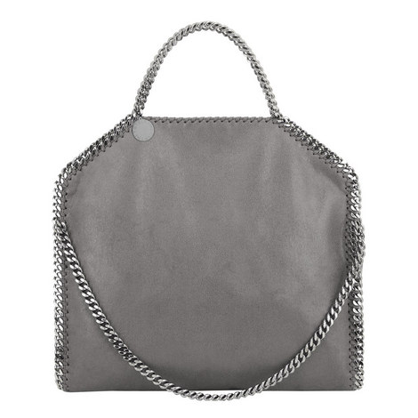 Falabella Shaggy Deer Tote Small, ${color}